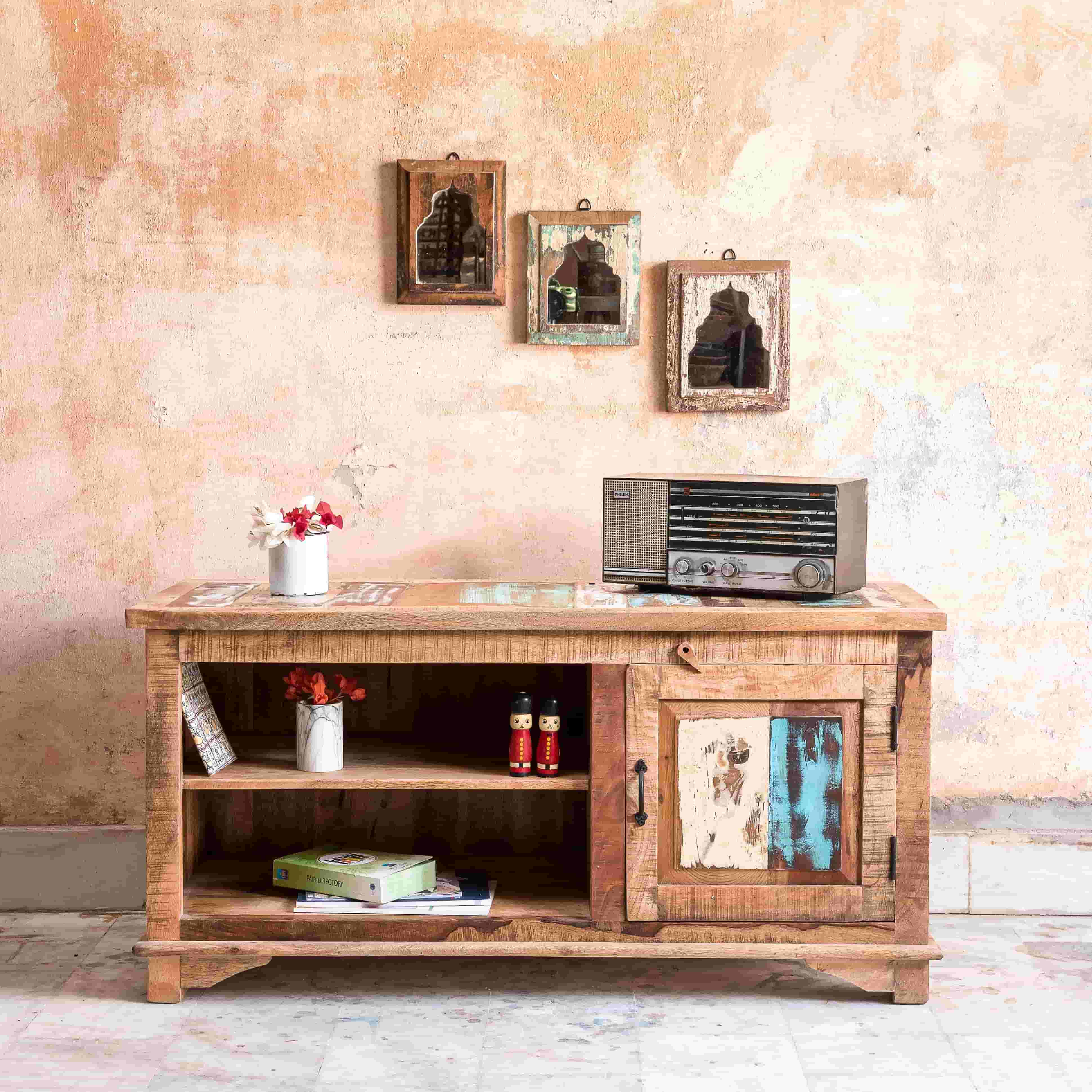 Wooden TV CABINET-4
